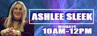 ASHLEE SLEEK on air