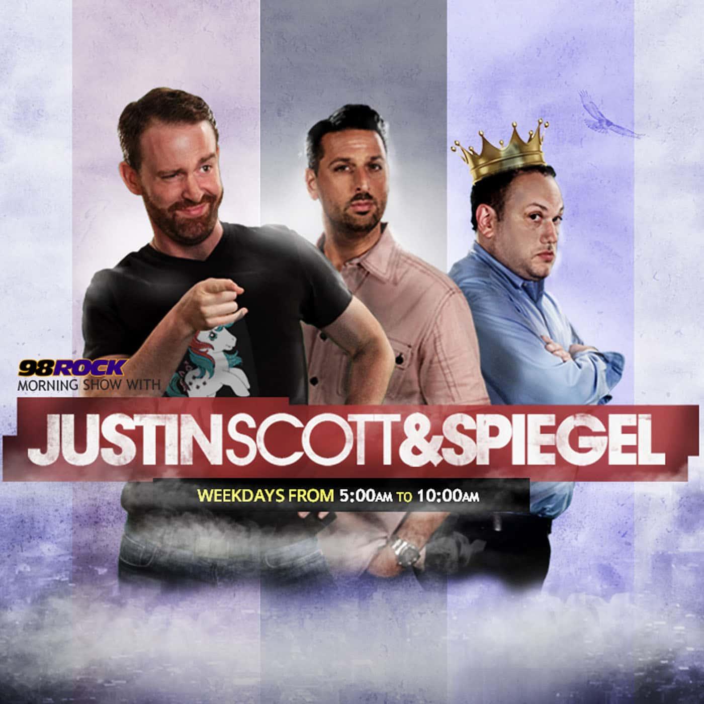 Justin, Scott and Spiegel Show Highlights