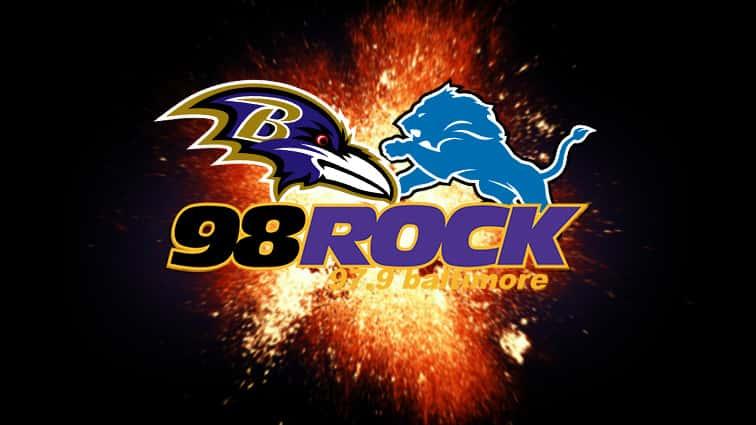 Ravens v Lions