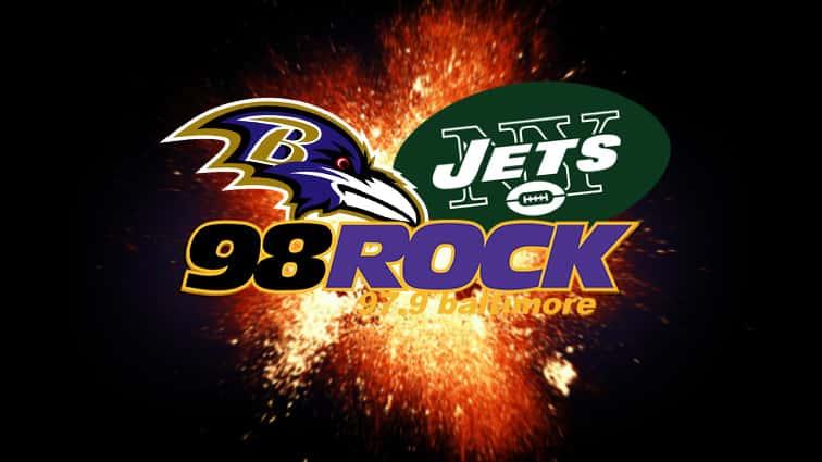 Ravens v Jets