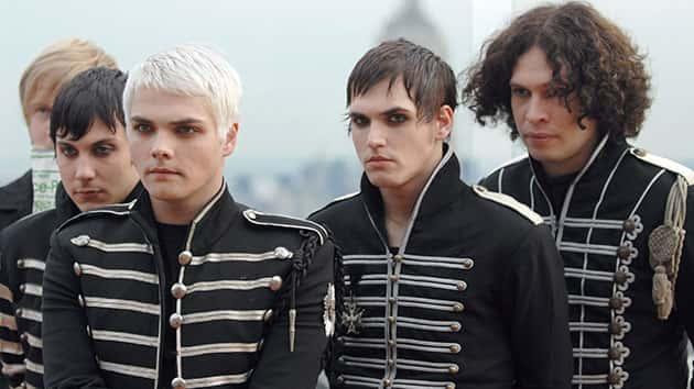 My Chemical Romance in 2006; Michael Loccisano/FilmMagic