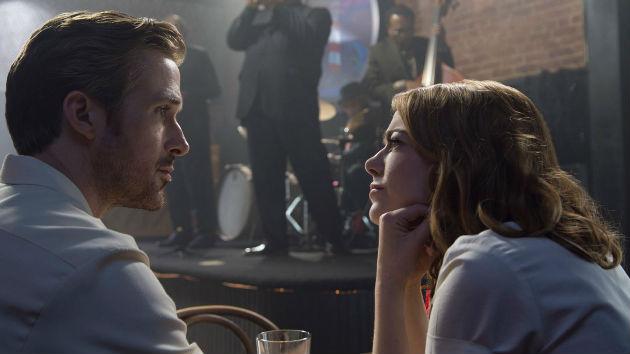 """Ryan Gosling and Emma Stone in """"La La Land""""; Lionsgate"""