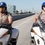 "L-R: Michael Pena and Dax Shepherd in ""CHiPs""; Peter Iovino/Warner Bros."