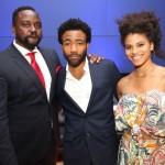 "From ""Atlanta,"" (L-R) Brian Tyree Henry, Donald Glover, Zazie Beetz - Courtesy Robin Lori for FX Networks"