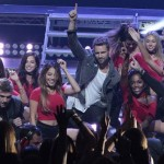 Nick Viall and the bachelorettes with Backstreet Boys; ABC/Rick Rowell