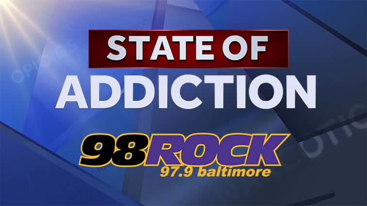 98rock State of Addiction Background