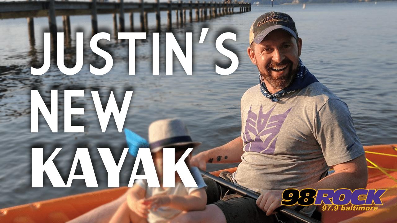 Justin's Risky Kayak Ride