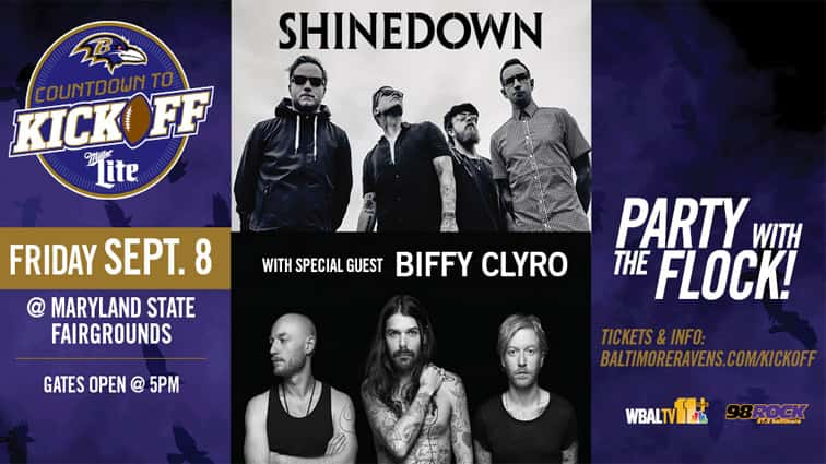 Win a meet and greet with shinedown at countdown to kickoff 98 win a meet and greet with shinedown at countdown to kickoff m4hsunfo