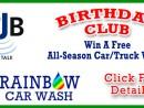 rainbow carwash