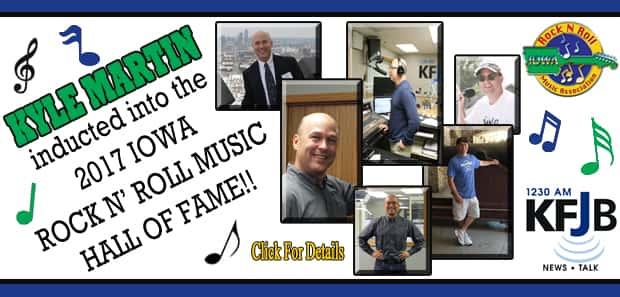 Kyle Martin Hall of Fame 2017