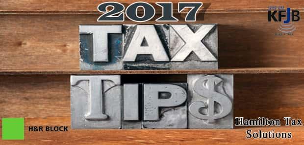 Tax Tips 2017
