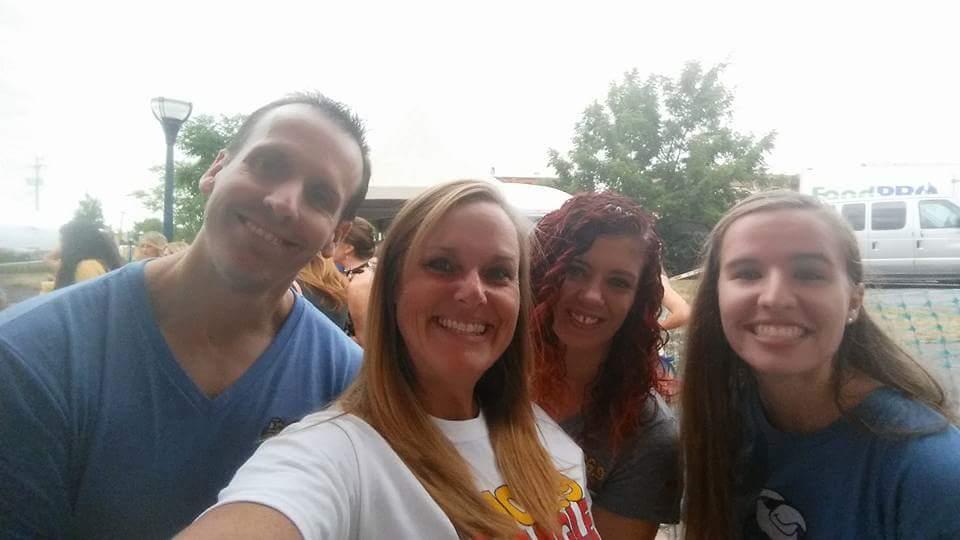 Dave, Jenna, me and Brooke