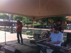 Alive@ 5 ft. Reggie Wayne  Morris Band 5.26.16 12