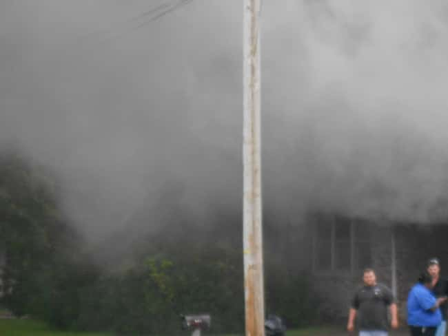 House Fire on 1st Street