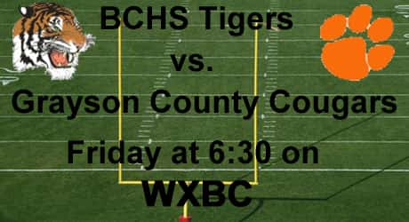 Tigers vs GC Cougars
