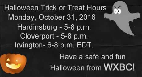 Halloween Hours 2016