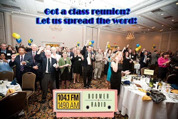 CLASS REUNION banner