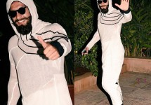 Internet-goes-crazy-trolling-Ranveer-Singh-over-his-outfit-at-Shahid-Kapoor's-pre-birthday-bash