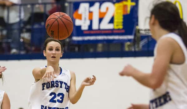 Forsyth girls Lacey Moore