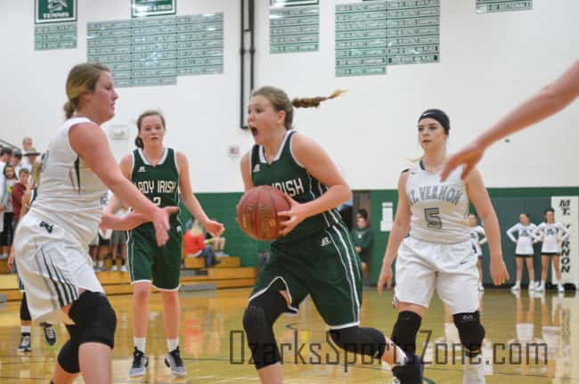 springfield catholic girls basketball 12.6.16