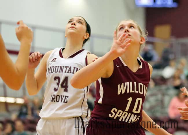 mountain grove willow springs girls basketball 12.26.16