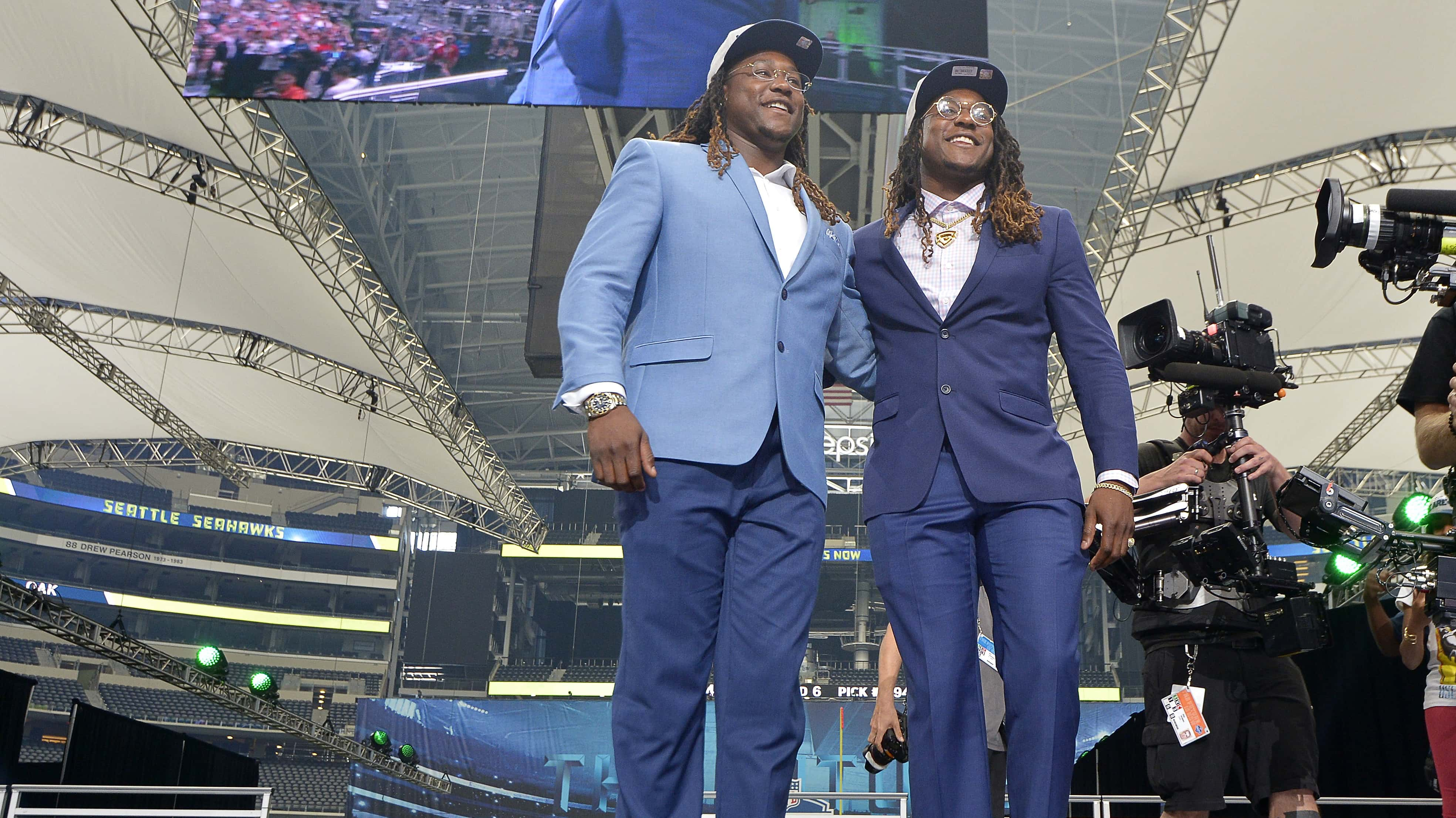Shaquem Griffin drafted by Seattle Seahawks, reunited with twin brother  Shaquill