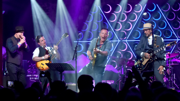Bruce Springsteen performs at re-opening party for Asbury Park bowling alley and concert venue