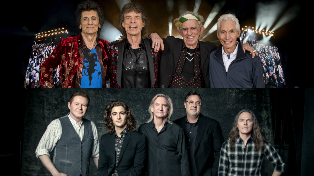 Tours by The Rolling Stones and Eagles among 2018's top-grossing treks so far