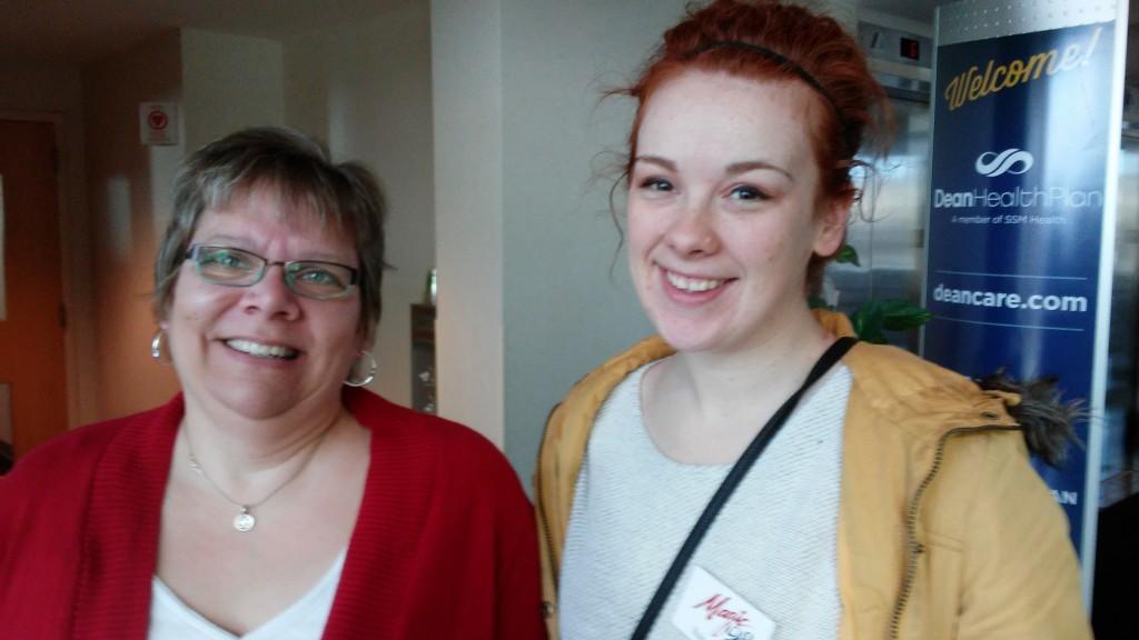 Raina and Donna Burkeland at Dean Health Plan