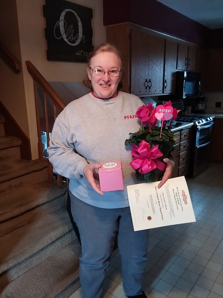 Patti Olson at home in Cottage Grove