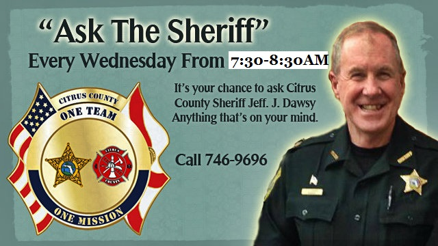 ASK THE SHERIFF