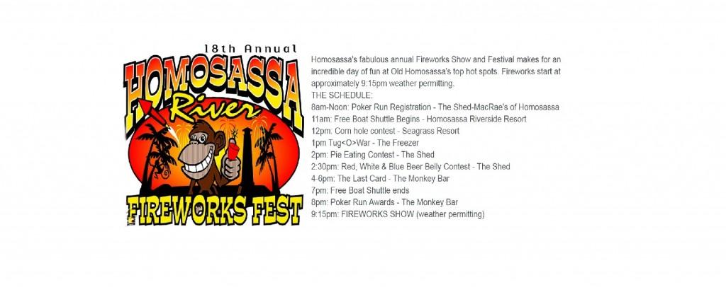 HOMOSASSA FIREWORKS FEST