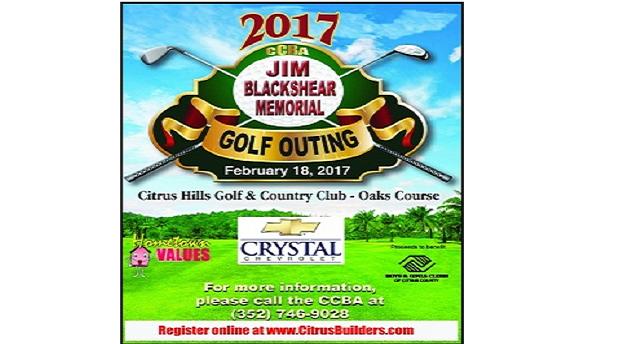 Jim Blackshear Memorial Golf Outing