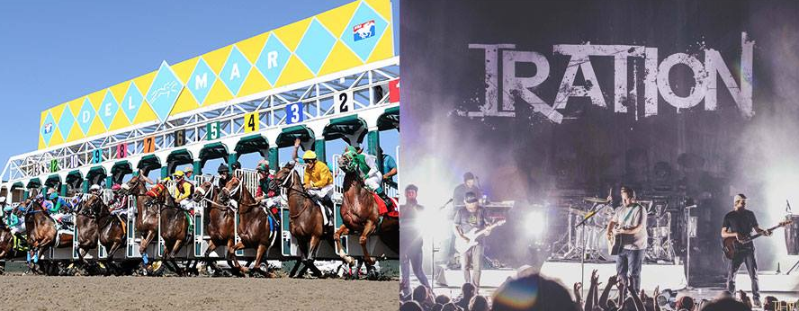 Del Mar Race Track & Iration
