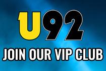 U92 VIP Email Club
