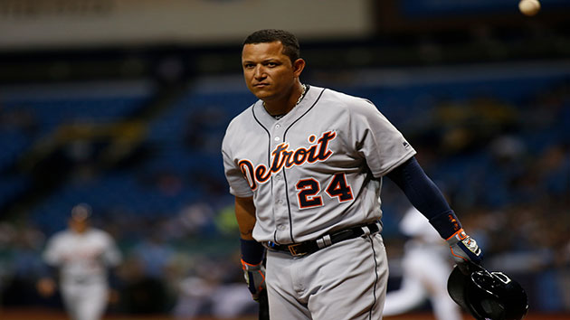 Tigers place Cabrera on disabled list