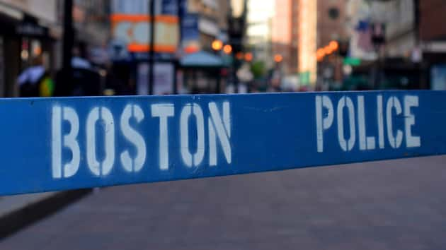 1 of 2 slain Boston doctors texted 'Gunman in the house'