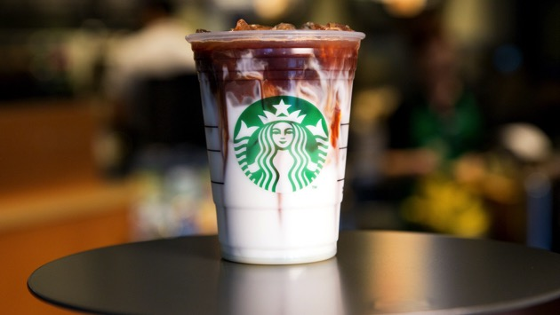 Starbucks testing coffee ice cubes in its cold drinks