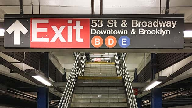 Toddler strapped to stroller thrown down subway stairs