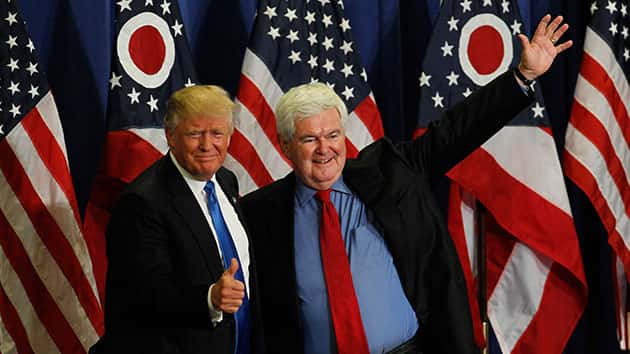 Gingrich: 'Congress Should Now Intervene and Should Abolish the Independent Counsel'