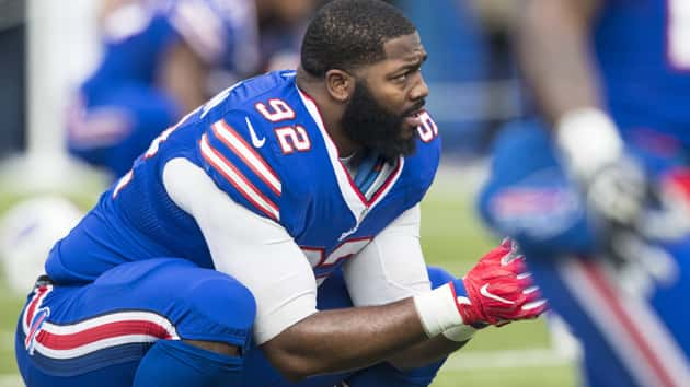 Bills' Adolphus Washington Arrested on Weapons Charge After Showing Gun to Cops