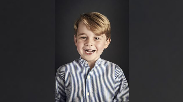 Prince George Turns 4 -- See His Adorable New Portrait!