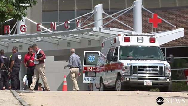 New Hampshire hospital evacuated due to possible chemical leak