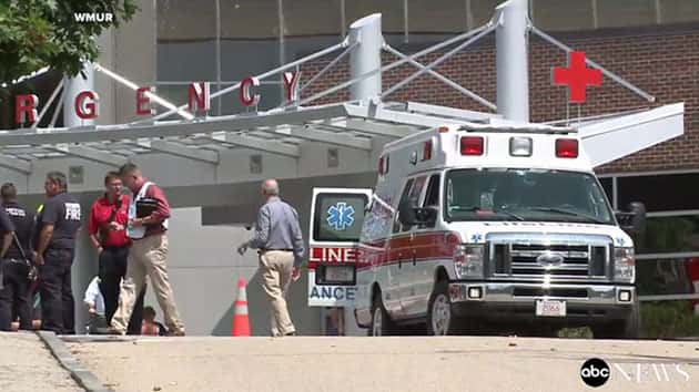 Patients Treated for Chemical Release at Hospital Emergency Room