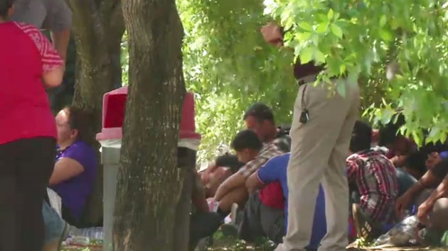 At least 17 immigrants found inside a trailer in Texas