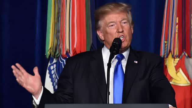 Reaction mixed on President Trump's tough-talking speech on Afghanistan