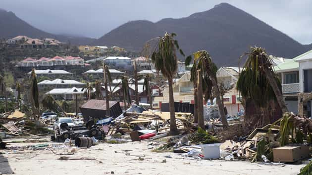 World famous St Maarten airport destroyed by Hurricane Irma