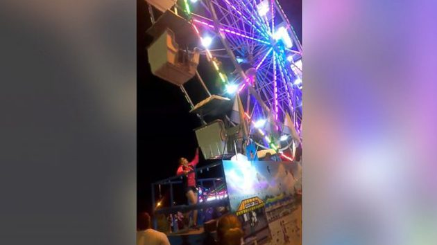 Worker injured while reparing ride at Central Carolina Fair in Greensboro