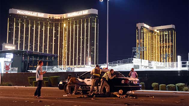 Unarmed security unlikely hero of Las Vegas massacre