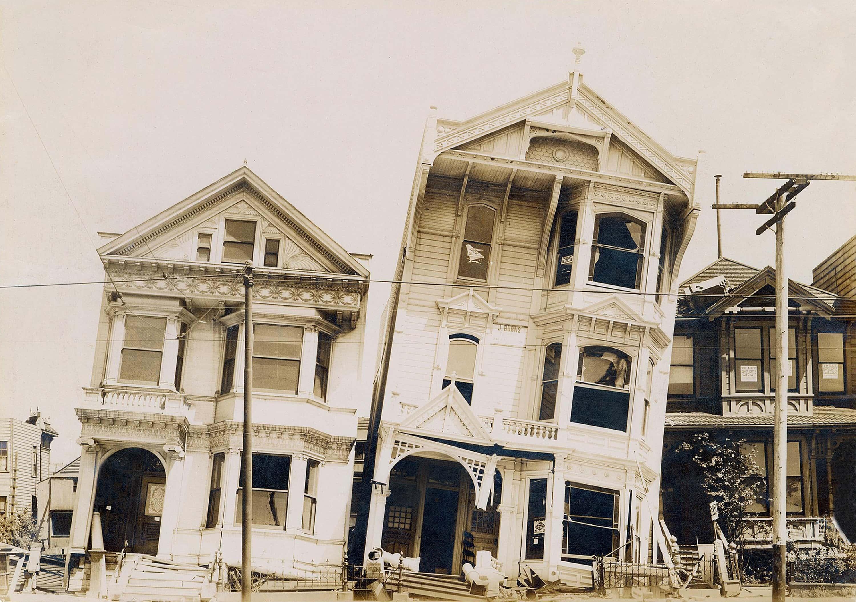 The Great SF quake happened  April 18, 1906